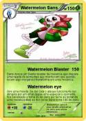 Watermelon Sans