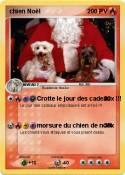 chien Noël