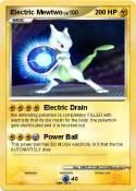 Electric Mewtwo