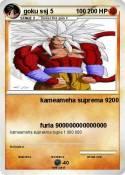 goku ssj 5 100