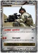 Army dude