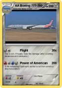 AA Boeing