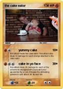 the cake eator
