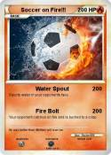 Soccer on Fire!