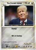 The Donald dump