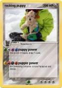rocking puppy