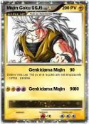 Majin Goku SSJ5