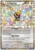 10 Pikachus