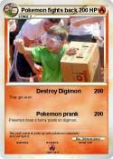 Pokemon fights