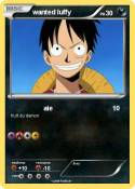wanted luffy