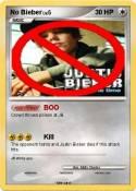 No Bieber