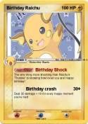 Birthday Raichu