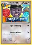 skylander kids