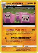 pink sheep army