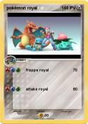 pokémon royal