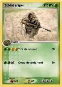 Soldat sniper