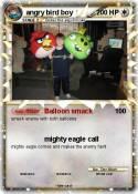 angry bird boy