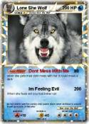 Lone She Wolf
