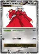 inyuasha demon