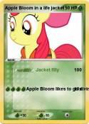 Apple Bloom in
