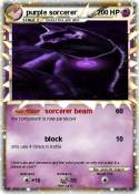 purple sorcerer