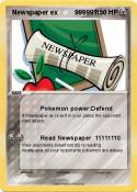Newspaper ex