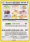 Eevee's cake