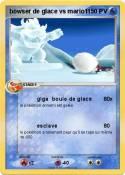 bowser de glace