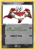 Papyrus Lv X