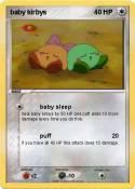 baby kirbys