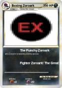 Boxing Zoroark