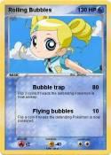 Rolling Bubbles