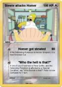 Stewie attacks