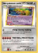 fake pokemon