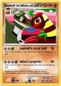 Bayleef vs