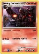 Burning Demond