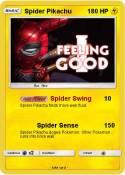 Spider Pikachu