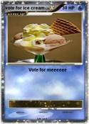 vote for ice