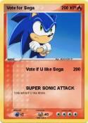 Vote for Sega