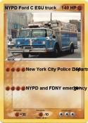 NYPD Ford C ESU