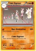I hate Digimon