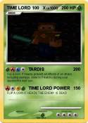 TIME LORD 100 X