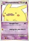 Pikachu(mustache)