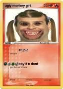 ugly monkey