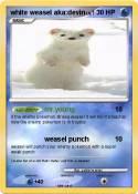 white weasel