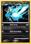 Dark Lucario