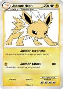 Jolteon! Heart!