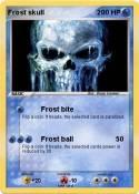 Frost skull
