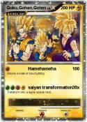 Goku,Gohan,Goten