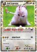 Golf Hamster